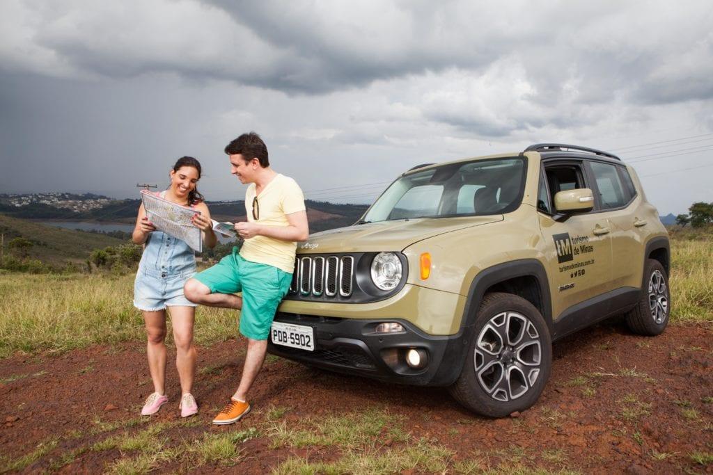 Jeep Renegade Expedição Turismo de Minas