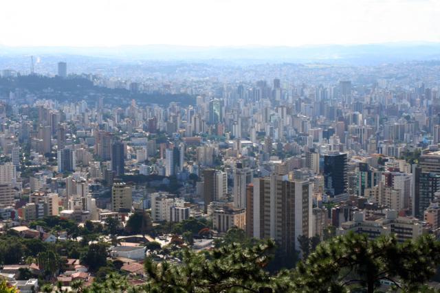 Vista para Belo Horizonte | Foto: Marden Couto