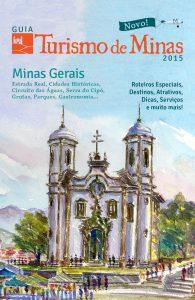 edição 1 Guia 2015 Turismo de Minas - Capa 2D