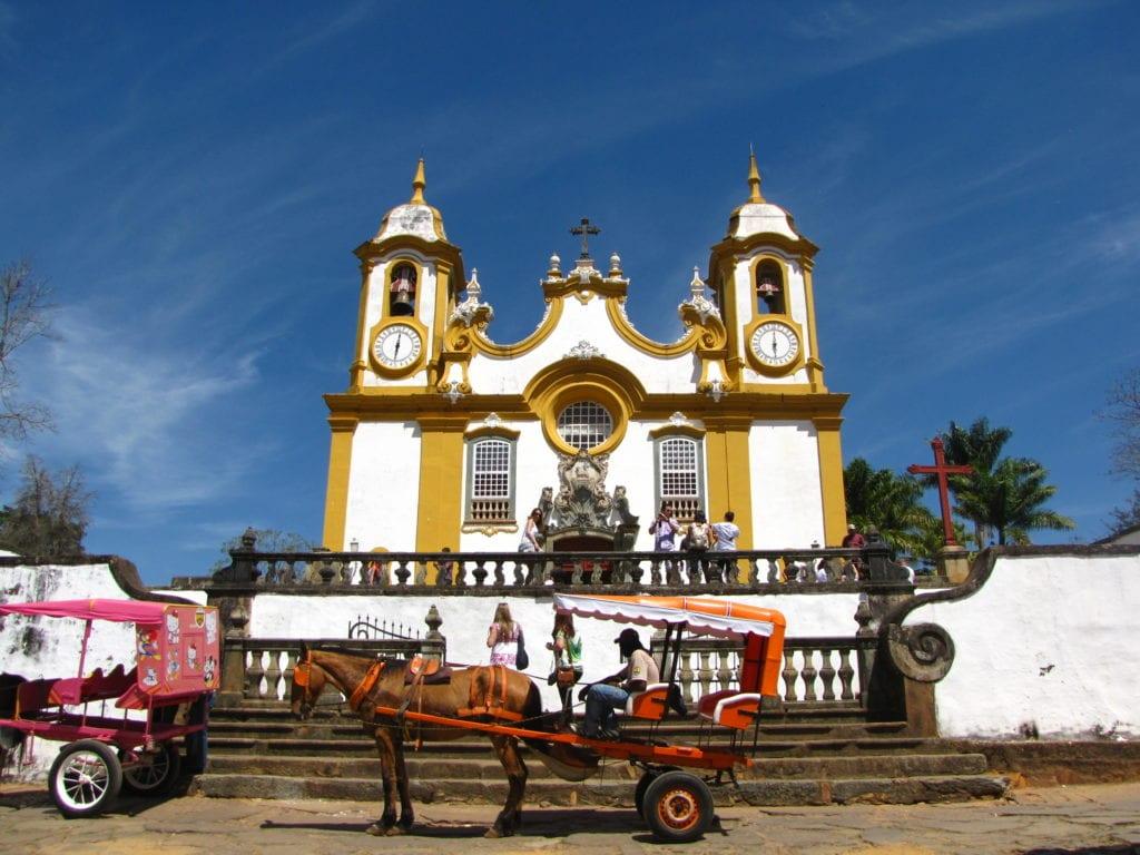 Matriz de Santo Antonio, em Tiradentes | Foto: Marden Couto