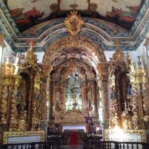 santa bárbara - altar matriz