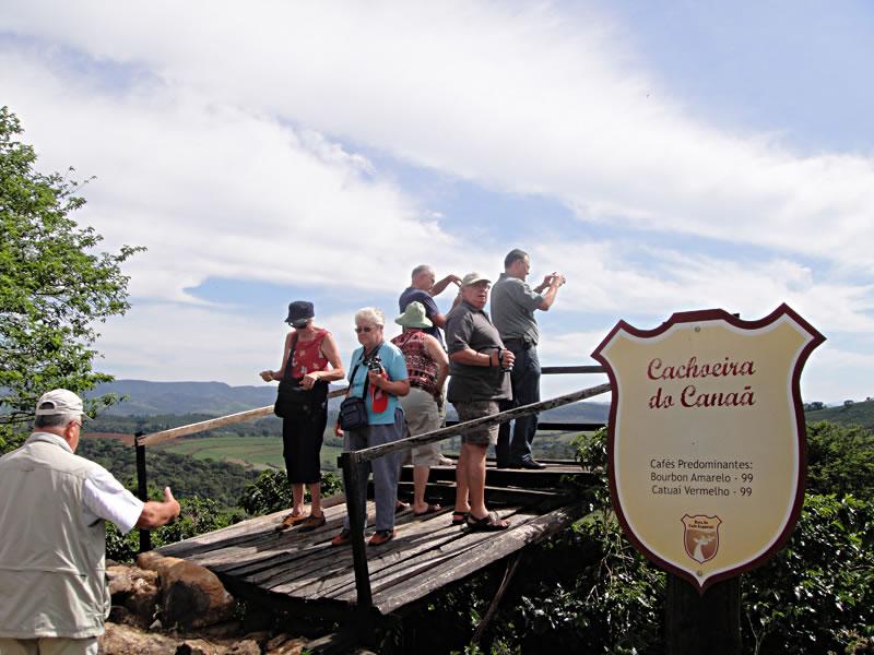 Rota do café, em Carmo de Minas