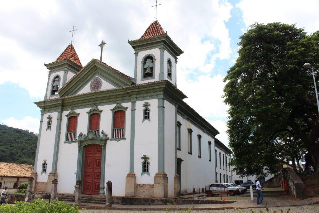 Matriz de Santo Antônio, em Santa Bárbara | Foto: Marden Couto/TM
