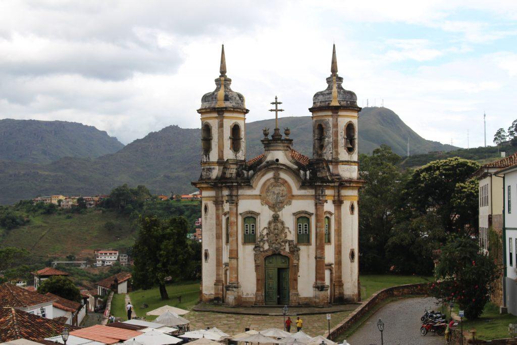 Igreja São Francisco de Assis, em Ouro Preto | Foto: Marden Couto/TM