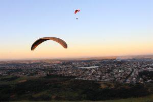 Voo livre em Sete Lagoas - Foto: Marden Couto/TM