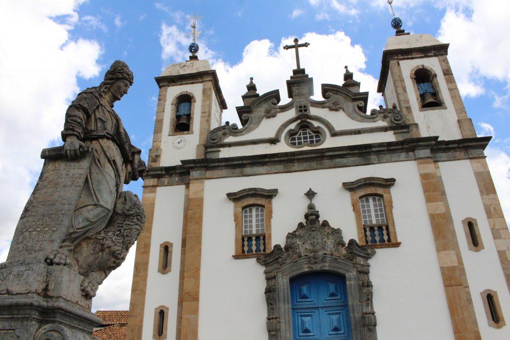 santuário dosenhor bom jesus de matosinhos - crédito Marden Couto