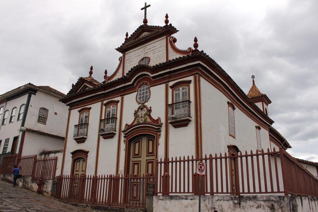 Igreja de Nossa Senhora do Carmo, em Diamantina | Foto: Marden Couto/TM