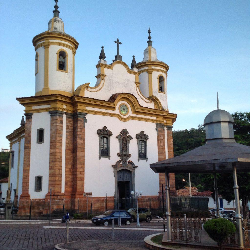 Santuário de São João Batista, em Barão de Cocais | Foto: Marden Couto/TM