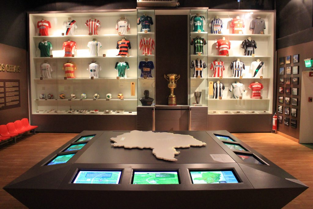 Museu do Futebol | Foto: Marden Couto / Turismo de Minas