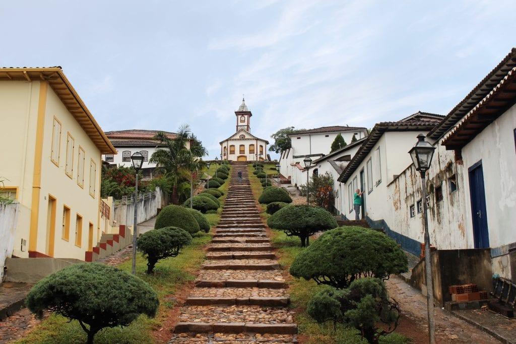 Capela de Santa Rita, no Serro - Foto: Marden Couto/TM