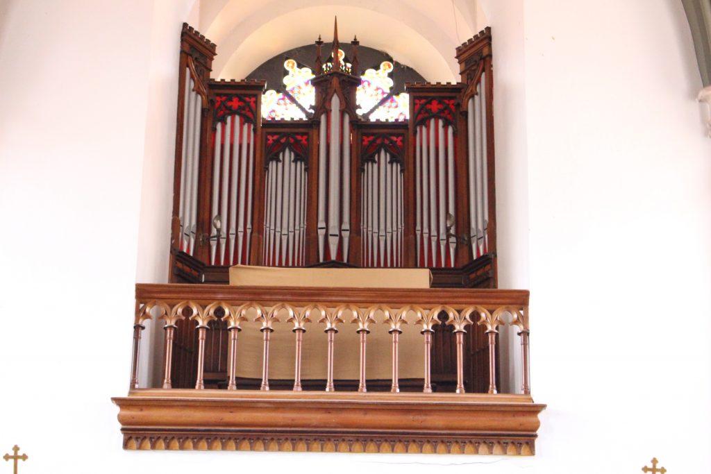 concertos no órgão, caraça - credito Marden Couto