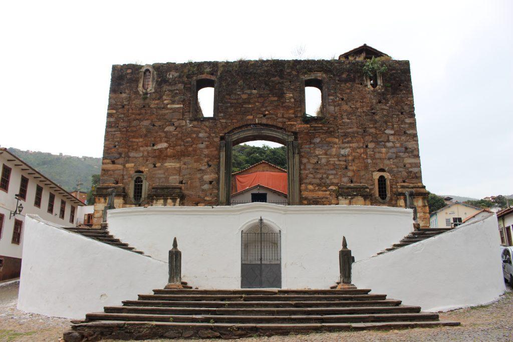 igreja do rosário, em Sabará - credito Marden Couto