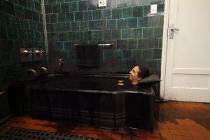 Banho de lama no Tauá Grande Hotel e Termas de Araxá - Foto: Marden Couto