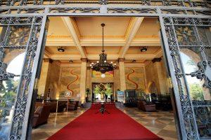 taua resort - Entrada do Grande Hotel, em Araxá - Foto: Marden Couto