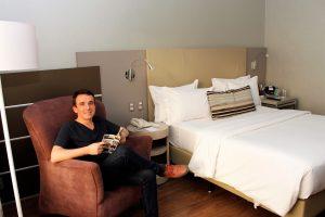 morar em hotel - mercure lourdes