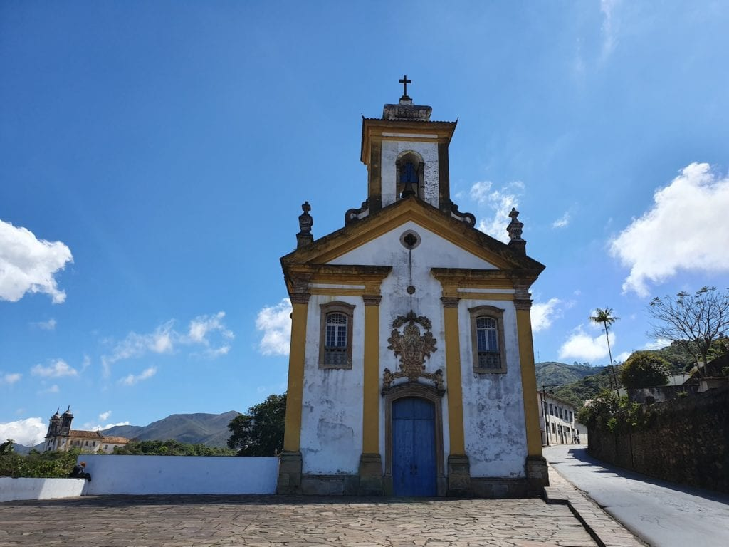 Igreja das Mercês, em Ouro Preto | Foto: Marden Couto