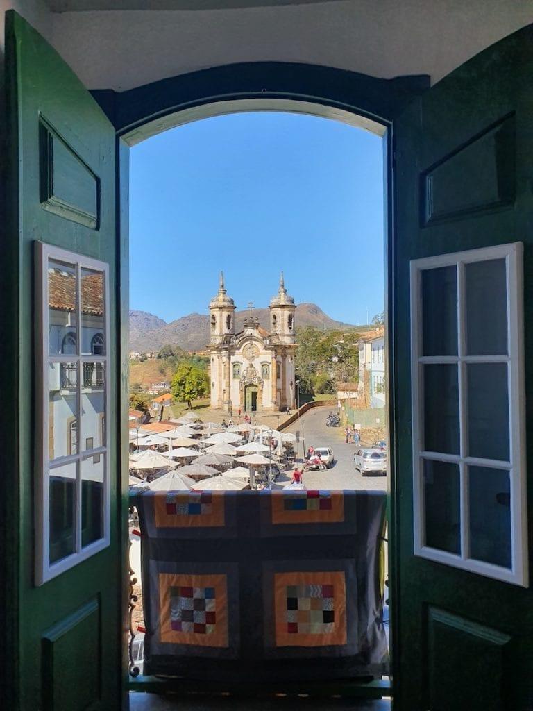 Vista da Igreja de São Francisco de Assis | Foto: Marden Couto / Turismo de Minas