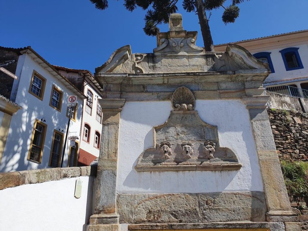 Chafariz do Passo de Antônio Dias, Ouro Preto | Foto: MardenCouto/TM