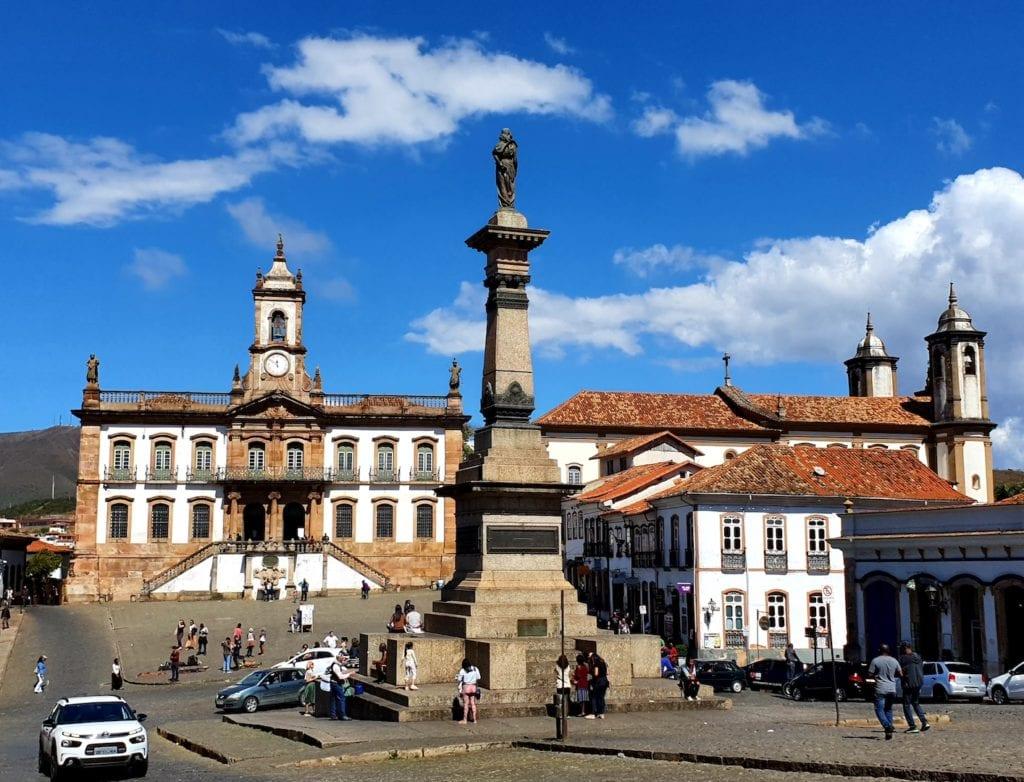 Praça Tiradentes, em Ouro Preto | Foto: Marden Couto / Turismo de Minas