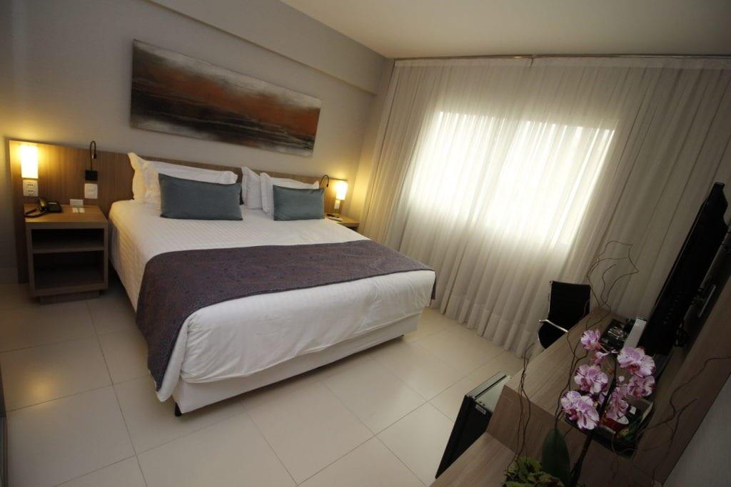 Um dos 10 principais hotéis da região da Pampulha | Foto: Marden Couto - Quality Hotel Pampulha