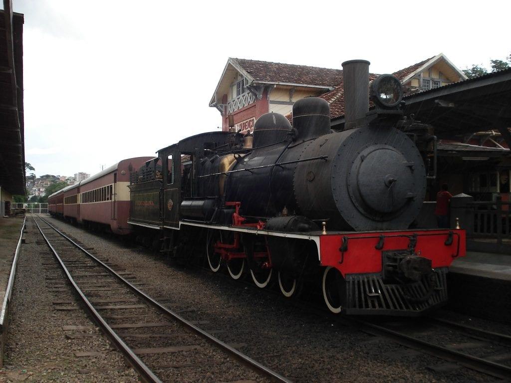 Passeio de trem maria fumaça, entre São Lourenço e Soledade de Minas | Foto: MardenCouto/TurismodeMinas