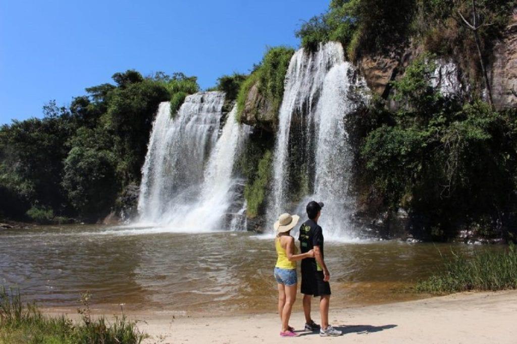 Cachoeira Grande, em Carrancas - Foto: Marden Couto/TM