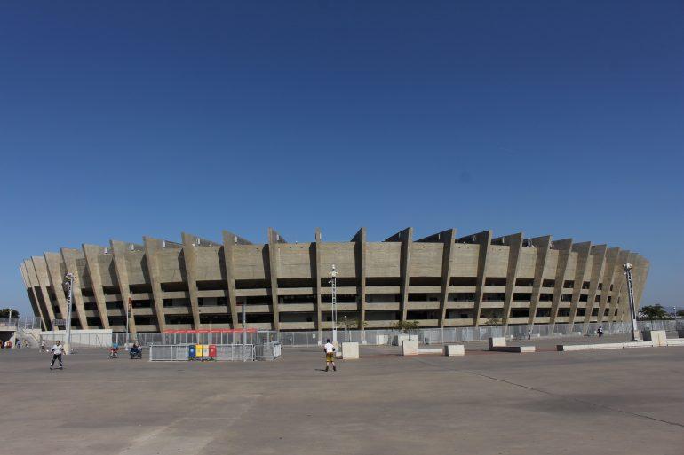 Estádio Mineirão, na Lagoa da Pampulha | Marden Couto/TurismodeMinas