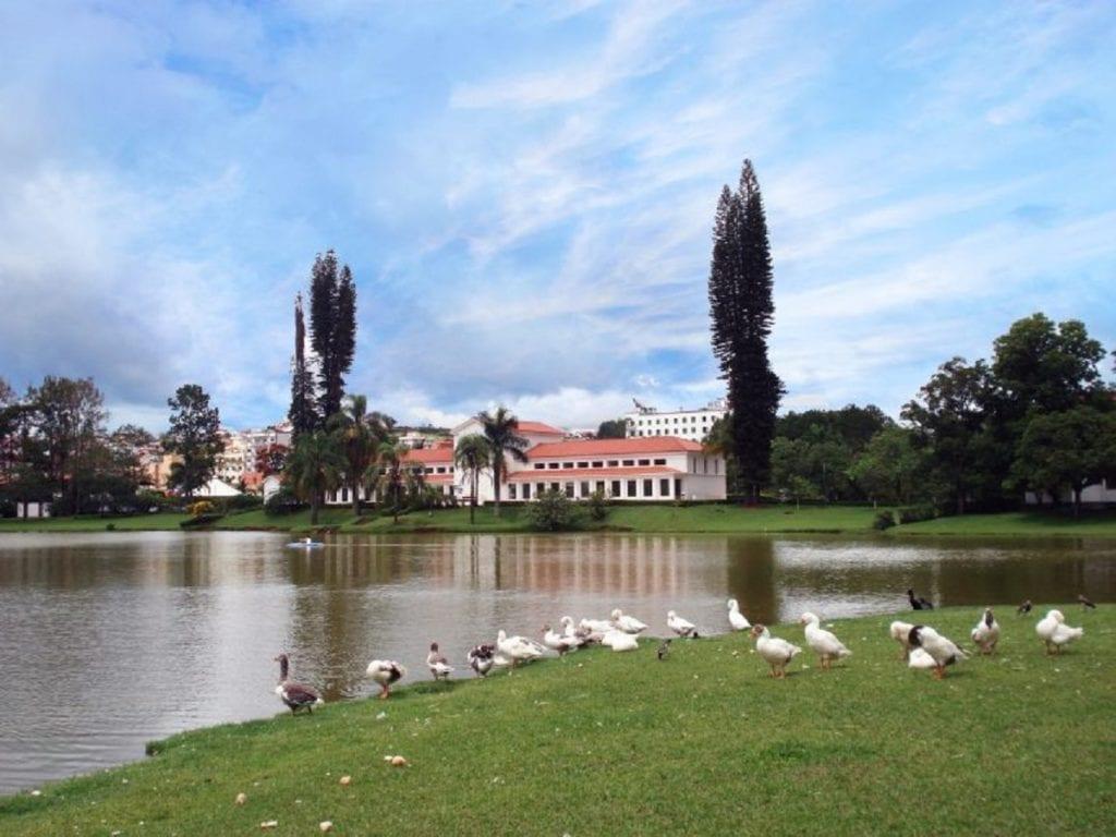 Parque das Águas, em São Lourenço - Foto: Marden Couto/TM