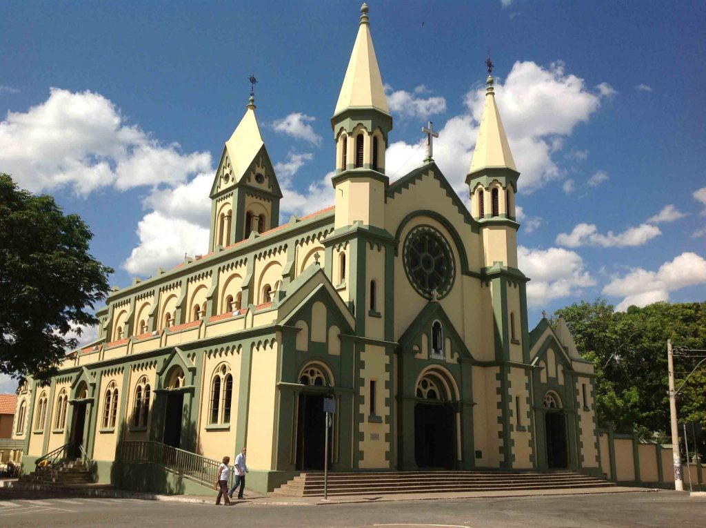 Basílica de São Geraldo, em Curvelo | Foto: Marden Couto/TM