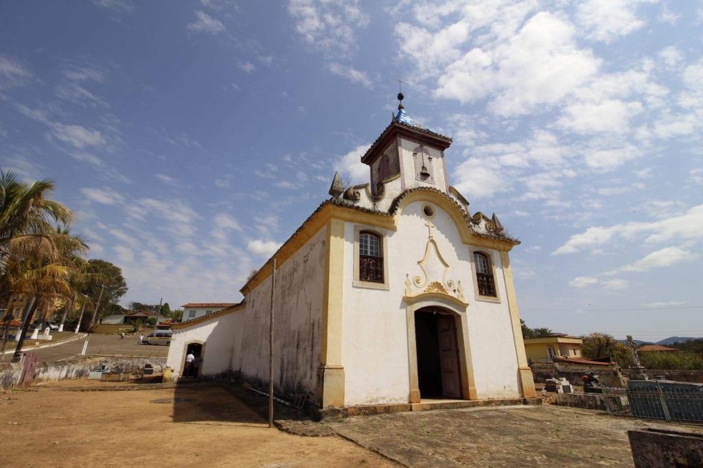 Igreja de Sant'Ana, em Cocais | Foto: Marden Couto