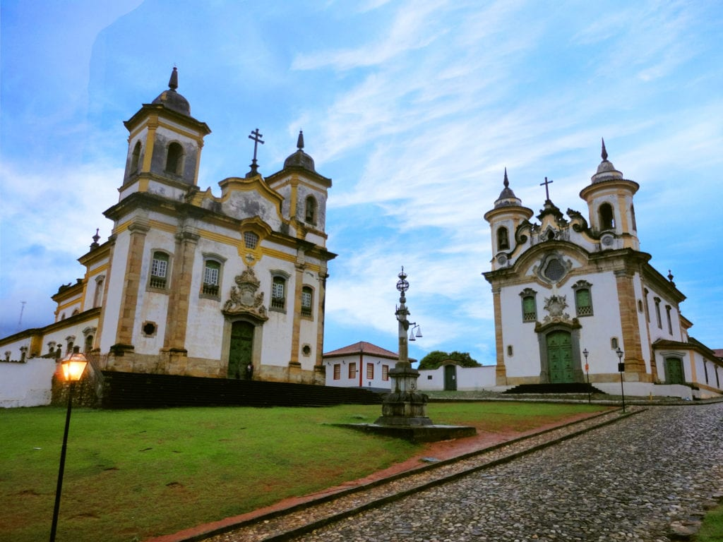 Praça Minas Gerais, em Mariana - Foto: MardenCouto/TM