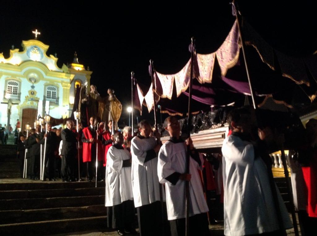Procissão da semana santa, em São João - Foto: MardenCouto/TM