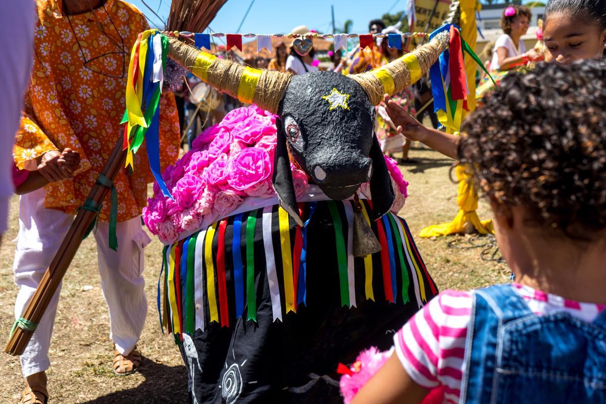 O Boi da Manta é um dos grupos folclóricos de Jequitibá | Foto: Consuelo Abreu/Divulgação Prefeitura de Jequitibá