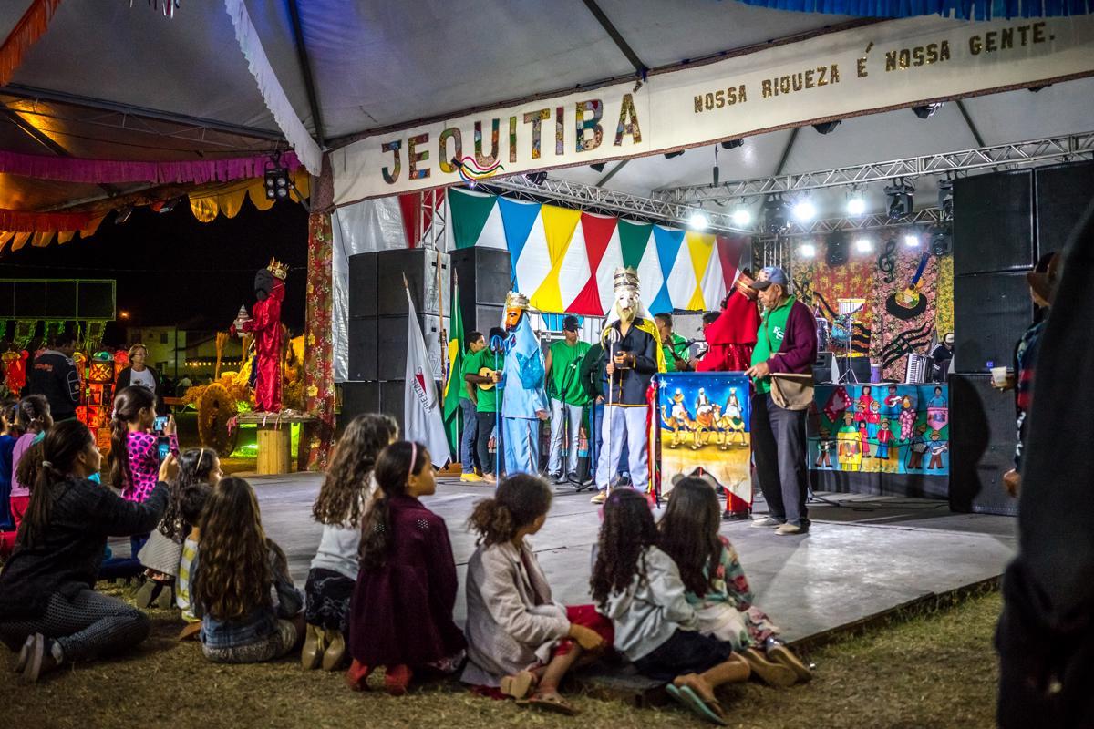 Programação cultural, em Jequitibá | Foto: Consuelo Abreu/Divulgação Prefeitura de j Jequitibá