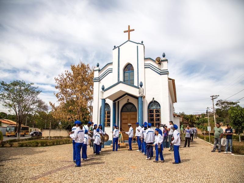 Capela Nossa Senhora do Rosário, em Jequitibá | Foto: Consuelo Abreu/Divulgação Prefeitura de Jequitibá