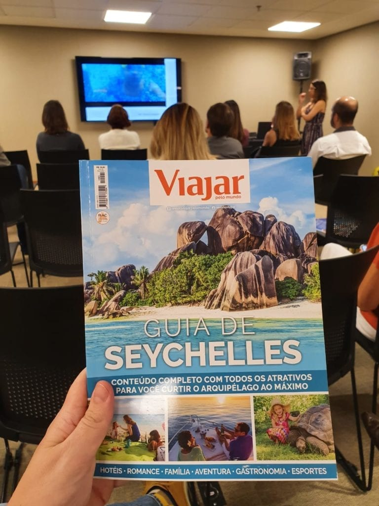 Publicação especial da Revista Viajar Pelo Mundo sobre Seychelles