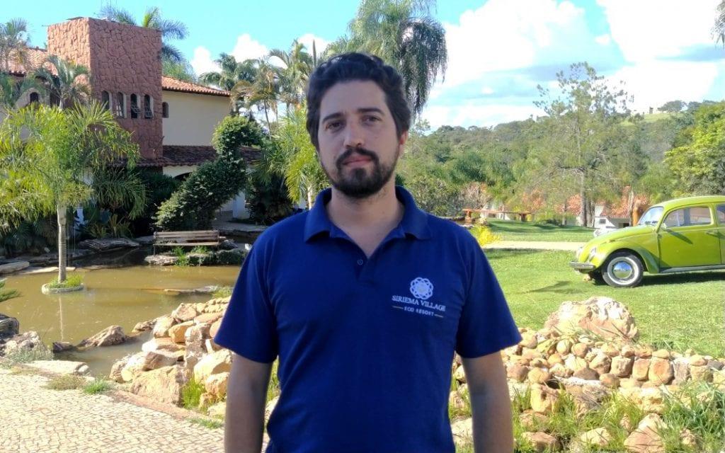 Rodrigo Baltazar, presidente da AMIHLA e diretor do Siriema Village